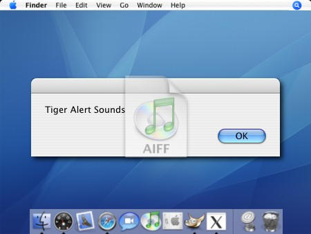 Mac OS X Sound Scheme by cyazian