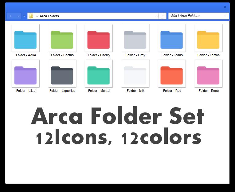 Arca Folders by Devonix