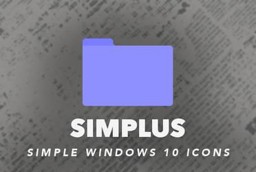 Simplus | Windows 10 Simple Folder Icons!