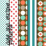 مكتبة الباترن 2013 ( اكبر تجميعه لملفات البآترن ) 2013 Dots_and_Stripes_Patterns_by_colourgallery