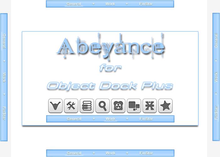 Abeyance - for ObjectDock Plus by ishakeel