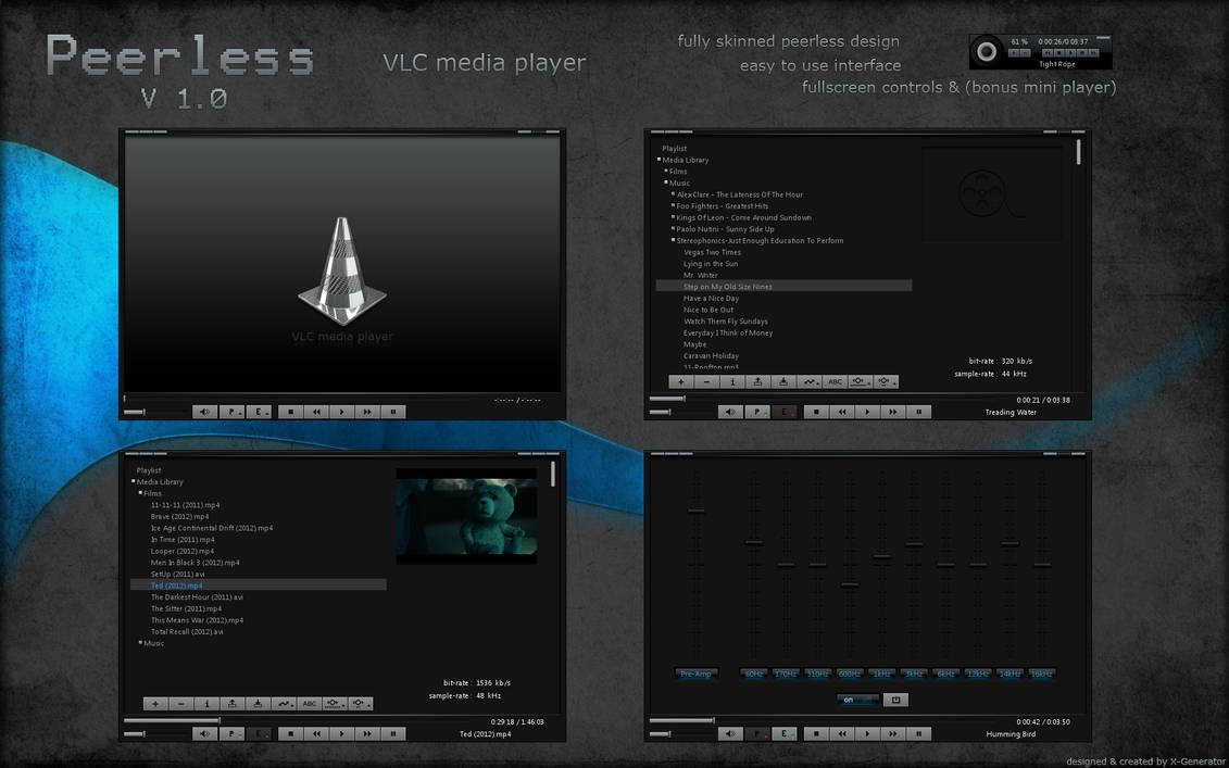 Peerless VLC media player by X-Generator on DeviantArt