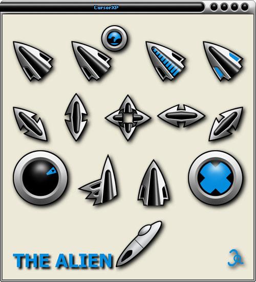 The Alien by jalentorn