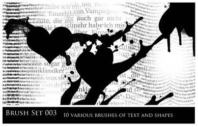 Brush Pack 003 by revsXgirl