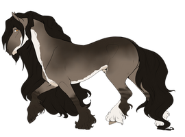 Orca | Lone Stallion by TheRomanLioness