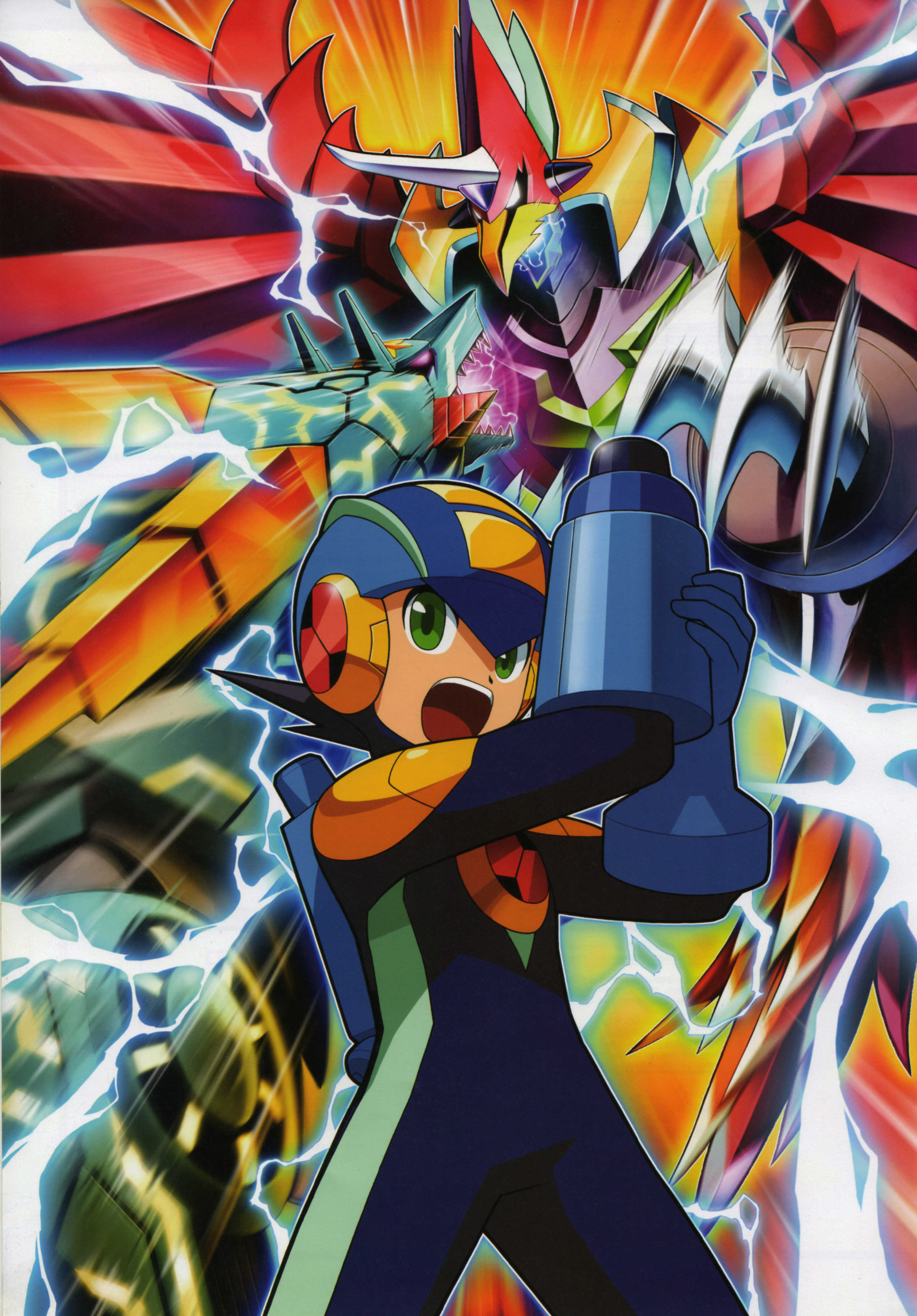 MegaMan NT Warrior, Vol. 8 | Book by Ryo Takamisaki
