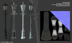 Low Poly Lampost