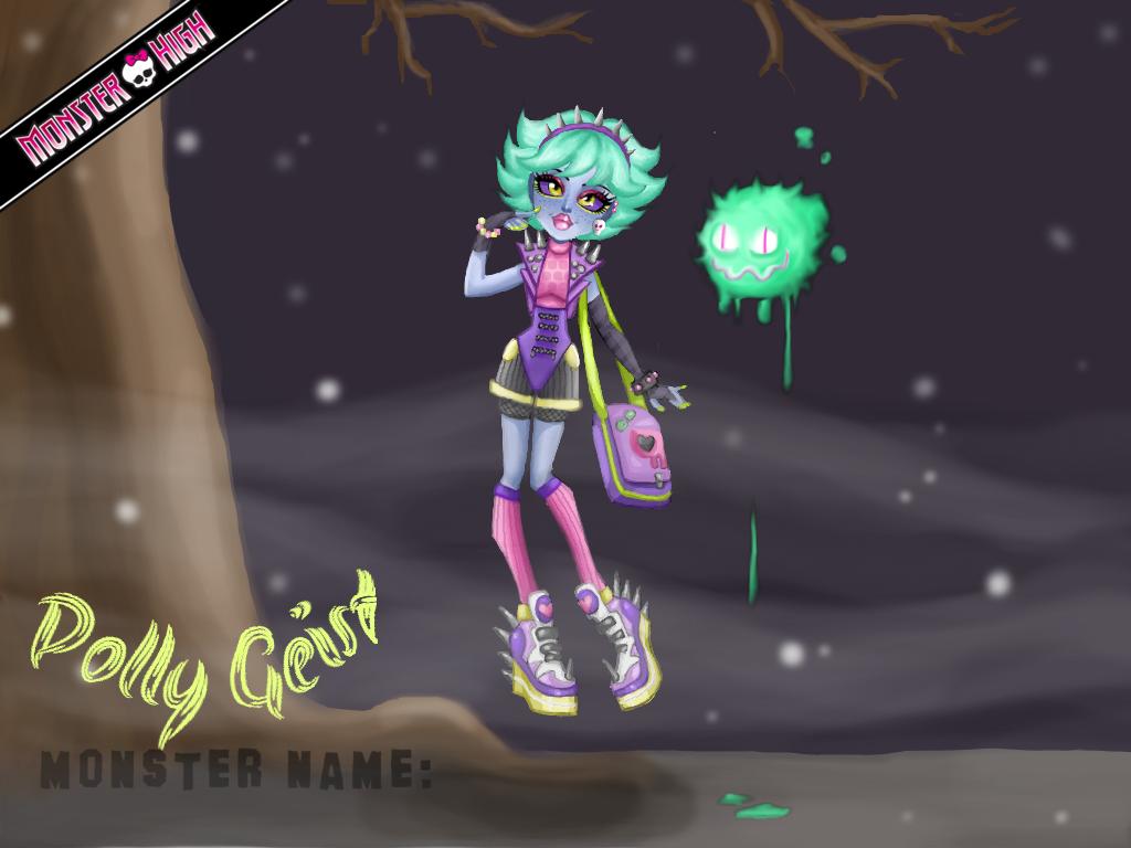 Polly Geist by sugargams