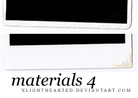 Materials 4 by xlighthearted