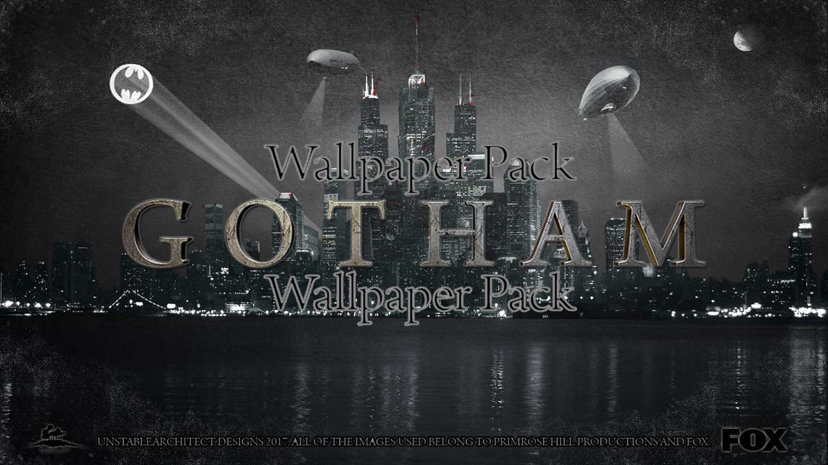 Gotham Desktop Wallpaper Pack by ChrisNeville85