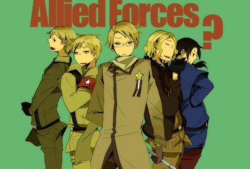 hetalia coloring pages allies - photo#49