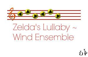 Zeldas Lullaby - Wind ensemble by saxophone5673