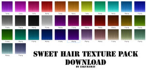 [Sweet Hair Texture] Download by Metra-Philia