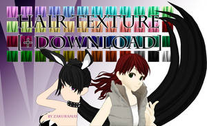 [Cartoon Hair Texture]  Download by Metra-Philia