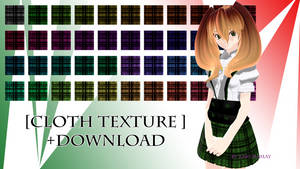 [Cloth Texture] Download by Metra-Philia