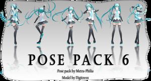 [ MMD Pose Pack Download] #6