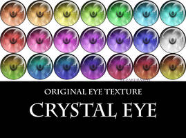 [Crystal eye] eye texture [Download] by Metra-Philia