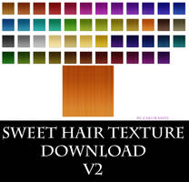 [Sweet Hair Texture V2] Download by Metra-Philia