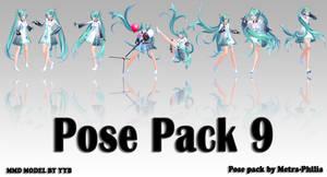 [ MMD Pose Pack Download]  #9