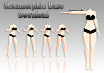 [ MMD Base] Free Download by Metra-Philia
