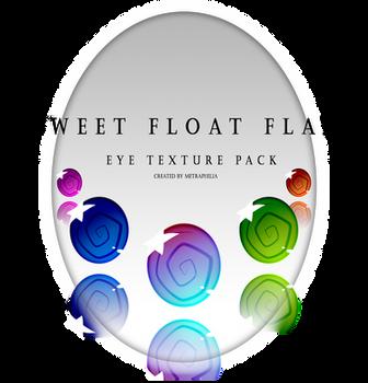 [Eye Texture pack] Sweet Float Flays DL + Ptu .psd