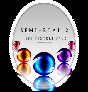 [Eye Texture Pack] Semi-Real 2 Free DL + Ptu .psd
