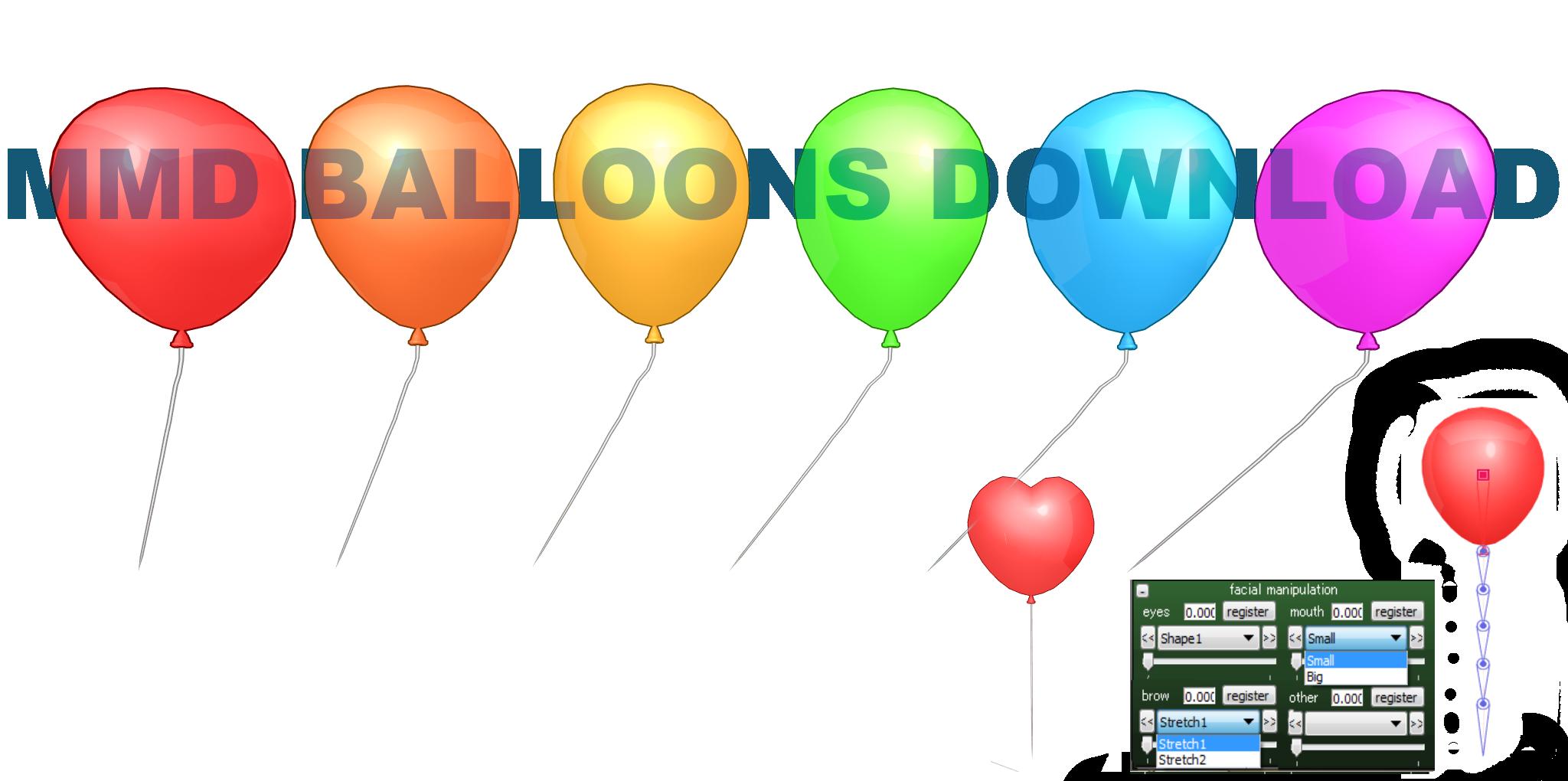 Baloons MMD DOWNLOAD (MMD ORIGINAL)