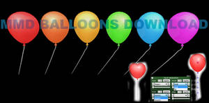 Baloons MMD DOWNLOAD (MMD ORIGINAL) by VanillaBear3600