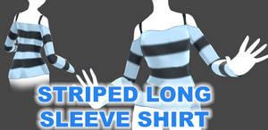 Striped long sleeve shirt (MMD DL)