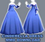 Cinderella Princess Dress (MMD DOWNLOAD)