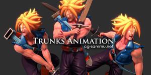 Dragonball Z Challenge: Trunks Sprite 2013