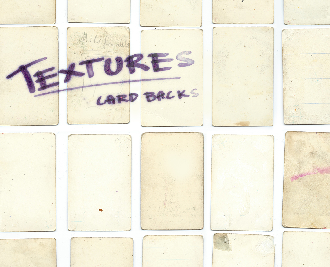 Textures: Trading card backs