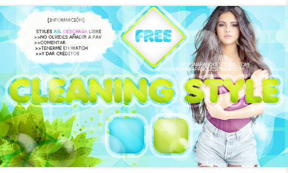 CLEANING STYLE by Romina-panquesito