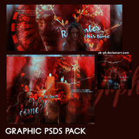 GRAPHIC PSDS PACK by Zk-ph