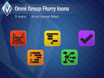 Omni Group Flurry Icons by Murakumon