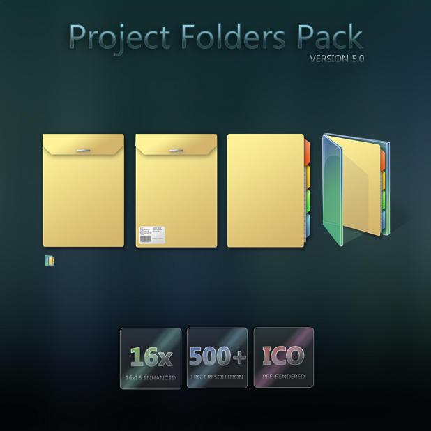 Project Folders Pack by Murakumon