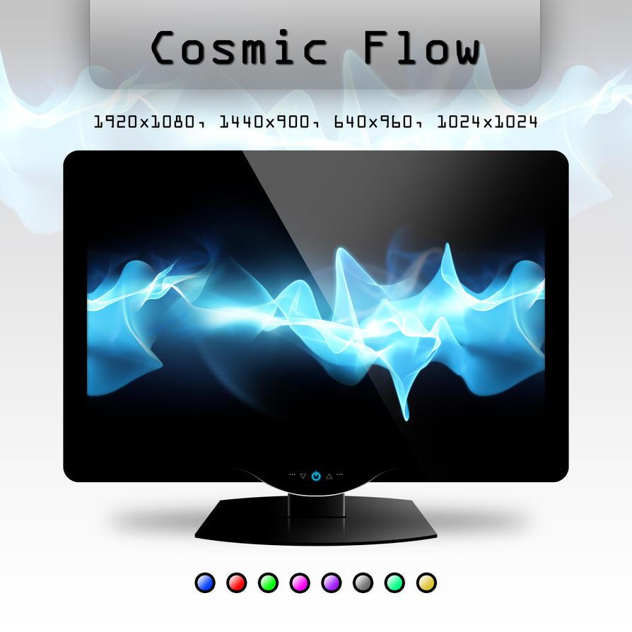 Cosmic Flow by soumya-digi