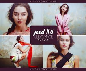 PSD #5 - elegance by Qyuri