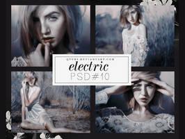 PSD #10 - electric by Qyuri