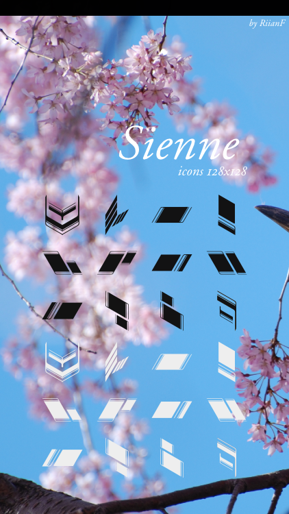 Sienne Icons by VisionsofArt