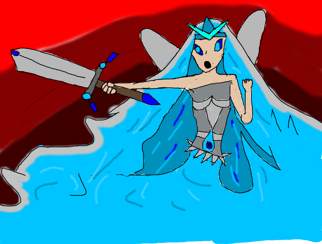 Fairy Queen of the Waters by Shadobian11