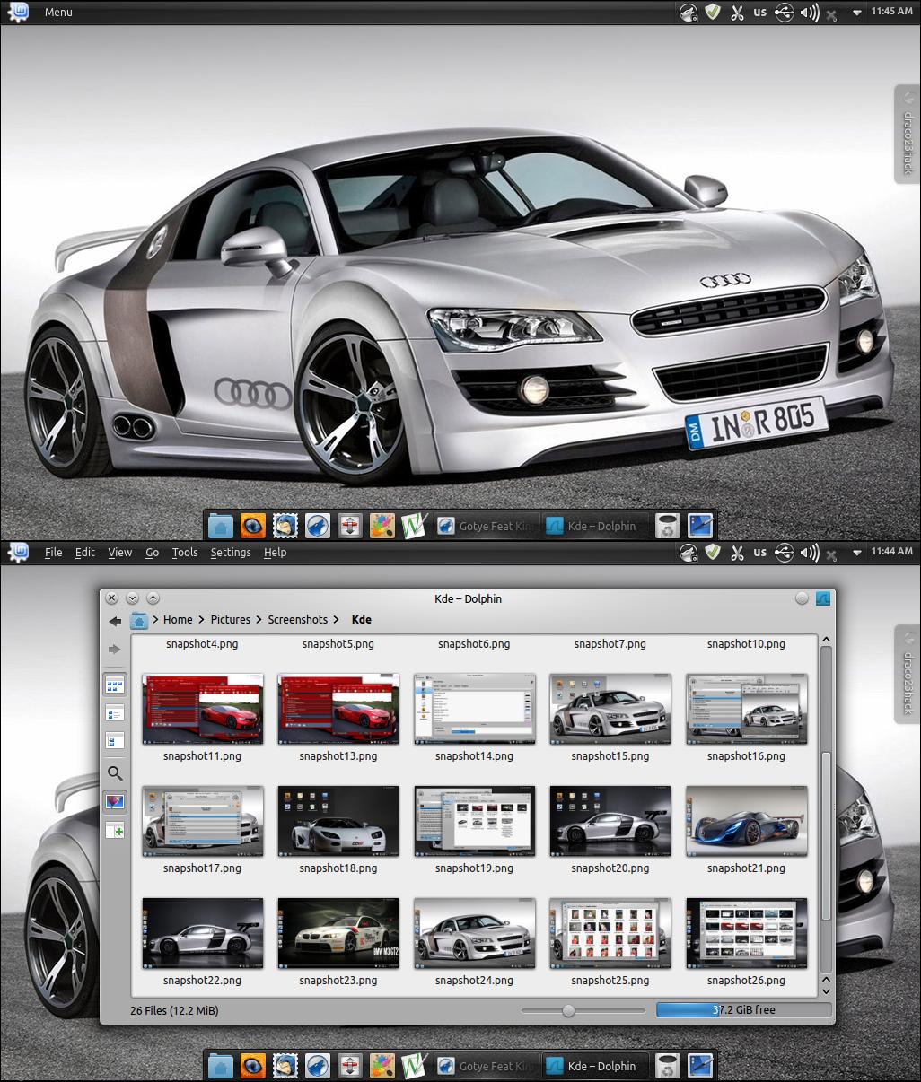 Audi 3 kde color scheme by Draco23hack