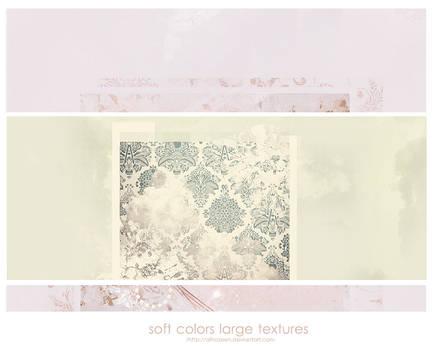 2 soft colors large textures
