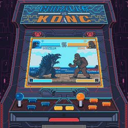 Godzilla vs. Kong Arcade game