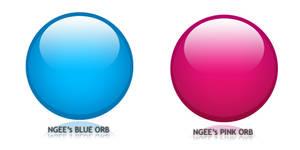 Ngee's Glassy Orbs PSD V 1.0