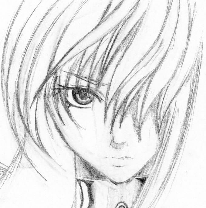 Simple pencil sketches of people the for Easy sketches of people