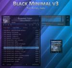 Black Minimal v3.1 for Aimp3