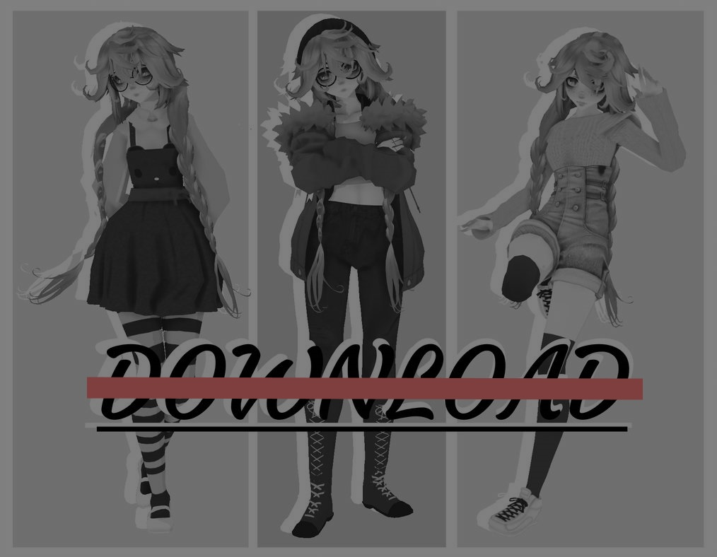 MMD - Updated Hiro Pack - No DL by Obi-Hates-everyone on DeviantArt