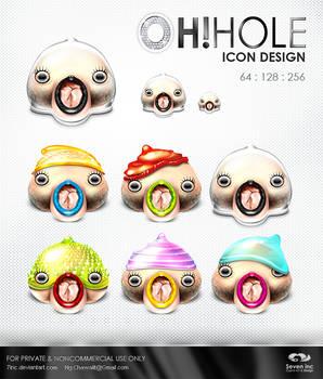 OhHole Icon Design