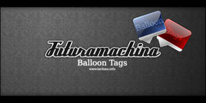 Futura Balloon Tag